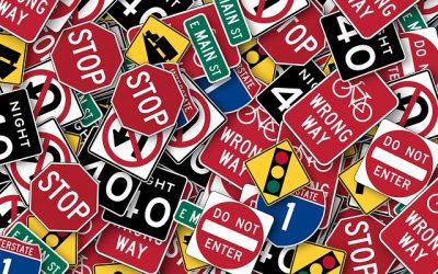 4.3 Пътни знаци