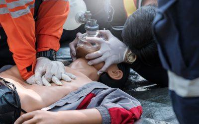 8. Спиране на дишането и кръвообращението