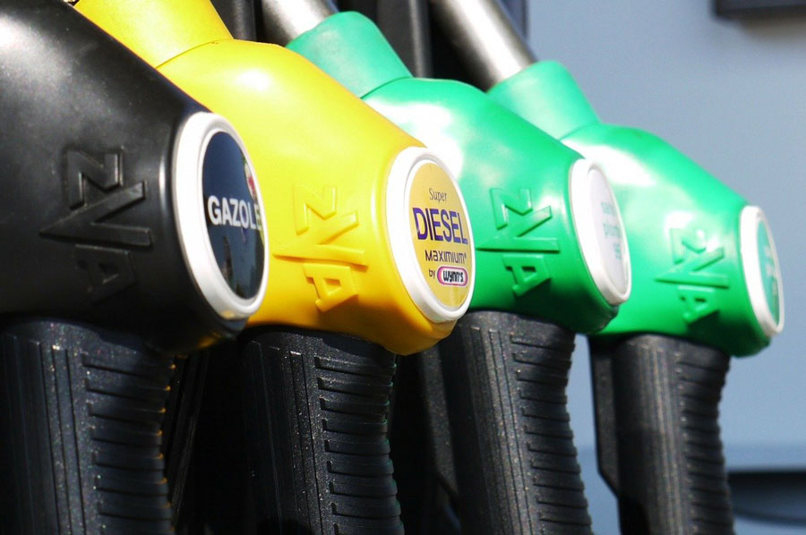 0.9 Характеристики на горивата