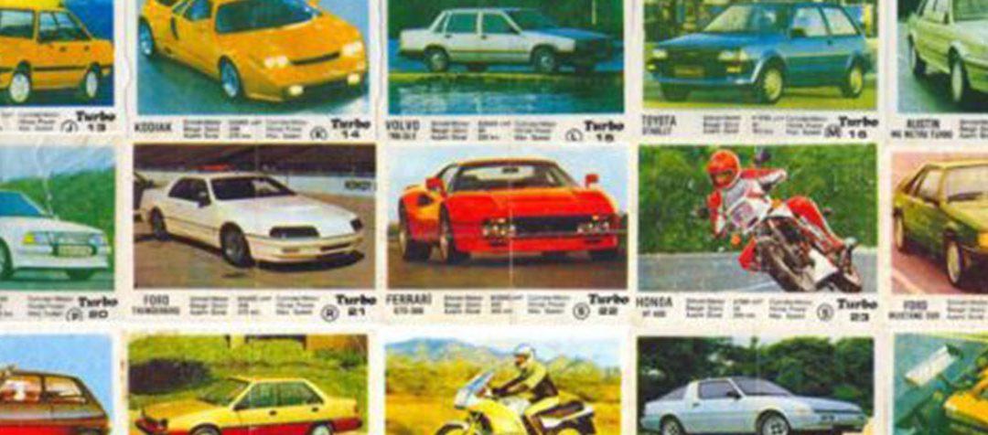 """Пълната колекция от дъвките """"Турбо"""" – Част 2"""