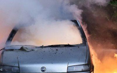 Какво да направим, ако видим горящ автомобил